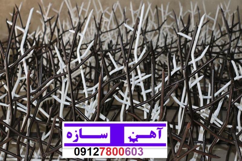 سیم خاردار شاخ گوزنی