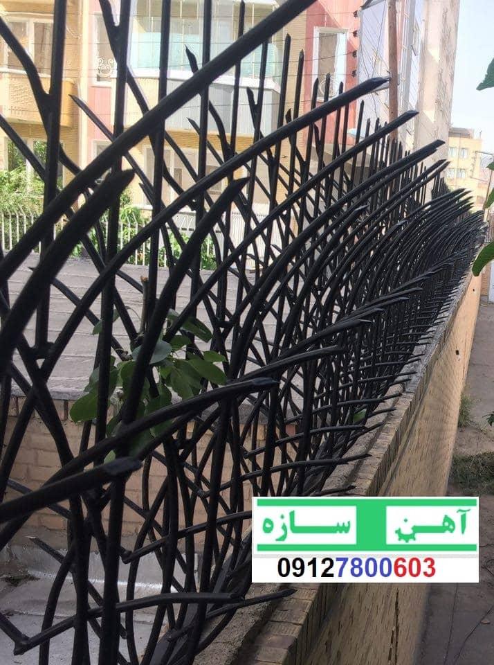 آهنگری سازنده انواع نرده حفاظ دیوار ساختمان و ویلا
